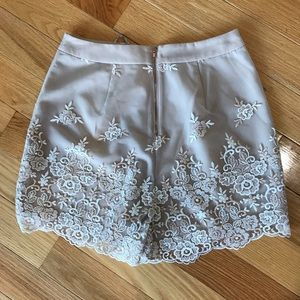 LC Lauren Conrad Shorts - LC Lauren Conrad champagne short, Size 10, NWT